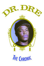 """Dr Dre The Chronic Poster Free US Shipping 24"""" x 36"""" Doctor Dr. NWA"""