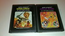 Atari 2600 Circus Atari (1978) & Warlords (1981) Cleaned