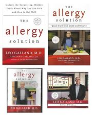 The Allergy Solution Leo Galland MD 2 Books & 7 Dvds New Self Care DVD Library
