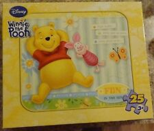 Winnie The Pooh 24 Piece Puzzle Fun In The Sun Piglet Ages 3+ New