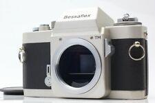【MINT】 Voigtlander Bessaflex TM Silver M42 35mm SLR Film Camera Body From Japan