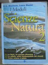 MODULI DI SCIENZE DELLA NATURA VOL.2 - D.MACKEAN e L.MASINI - BRUNO MONDADORI