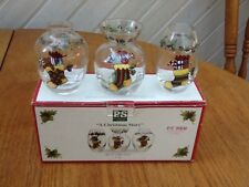 Set of 3 Holiday Mini Vases - A Christmas Story illustrated By Susan Winger