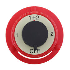 Marine Boot RV Angeln Dual Batterie Isolator Selector Switch On Off