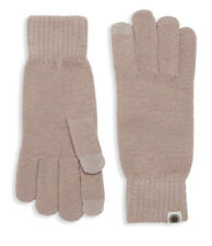NWT UGG Women's Tech Knit Gloves, Dusk (Brown), One Size, Touchscreen Technology