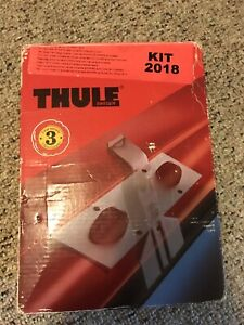 Thule #2018 Pad Fit Kit 1997 Saturn SC Coupe