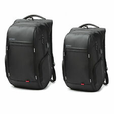 "15""/17"" Waterproof Notebook Backpack Laptop Backpack+USB Charge Computer Bag"