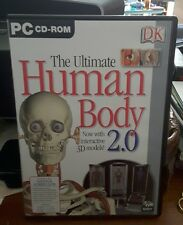 The Ultimate Human Body 2.0 - PC CD ROM - FREE POST