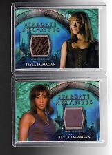 Stargate Atlantis season 3 & 4  Teyla Emmagan costume cards