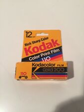 Kodak Gold 110 Film 24 Exp. ISO 200 24 Dated 09/1995 Sealed Package