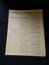 Comando di Fiume D'Italia N°17  Anno I