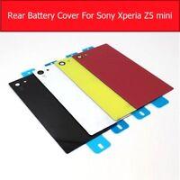 Housing Glass Battery Back Cover Door For Xperia Z5 Compact E5823 E5803+1Film