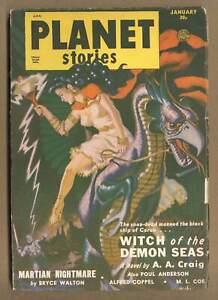 Planet Stories Pulp Jan 1951 #Vol. 4 #10 VG 4.0