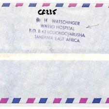 CF235 1978 Kenya *WASSO HOSPITAL* Air Cover MIVA Vehicles Austria MEDICAL DOCTOR