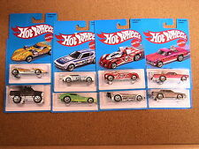 HOT WHEELS TARGET EXCLUSIVE COMPLETE SET OF 8  RETRO CARS