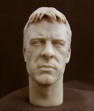 "CUSTOM RESIN UNPAINTED HEAD SCULPT. Action figures, 1/6 scale 12"",  V-18"