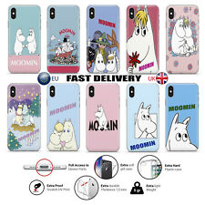 MOOMINS RETRO CUTE CARTOON LUXURY Phone Case Cover iPhone/Huawei/Samsung (MN)