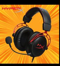 Auriculares para juegos HyperX nube Alfa-Negro * Nuevo *