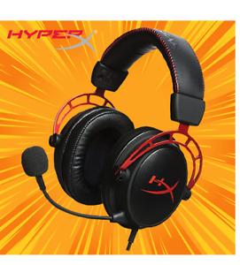 SALE HyperX Cloud Alpha PRO Sound Gaming Headset PS4 XBOX PC DETACHABLE