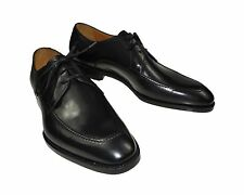 NIB CANALI 1934 Black Shoes 11 (44) Goodyear Construction, Hand-made in Italy