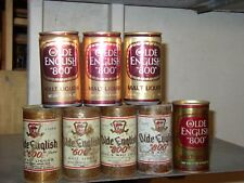 8 Diff Olde English 600 + 800 Malt Liquoir Cans 4= 11oz 4=12oz