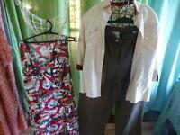 T3==femme  lot 3piéces assorties  pantalon ,haut et veste