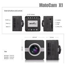 160° Wide Angle 4K-HI Helmet Panoramic Mini Car Dashcam Spy Camera Diving WIFI