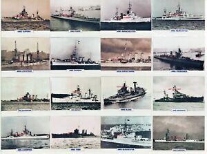 ROYAL NAVY HMS CRUISERS - ORIGINAL ATLAS MAXI PHOTOS  CARDS - CHOOSE FROM LIST