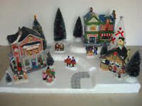 Christmas Village Display Platform C31 For Lemax Dept 56 Dickens + More