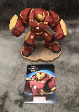 Disney Infinity 3.0 Hulkbuster Marvel Figure Ans Card Combine P&p
