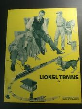 Vintage LIONEL Trains 1950's Catalog