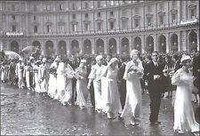 ROMA - UN MATRIMONIO COLLETTIVO A PIAZZA ESEDRA 1930 - Ed. INTRA MOENIA - 2005