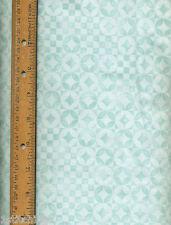 Fancy Felines Jim Shore 21428Q Quilt Quilting Fabric blue aqua circles
