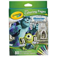 Crayola Mini Coloring Pages - Monsters University