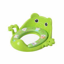 Baby Soft Padded  Toilet Seat with  Guard And Handle Safe