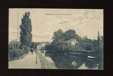 Germany EMDEN zwischen beiden Blechen Used 1913 PPC