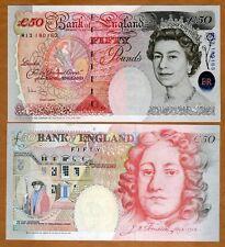 Great Britain, 50 pounds, 1994 (2006), Pick 388c, QEII, UNC > UK, England