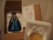 NIB Vintage Danbury Mint 1996 BARBIE Figurine COA 1965 MIDNIGHT BLUE Mattel