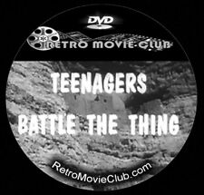 Teenagers Battle the Thing (1958) Horror, Sci-fi Movie Dvd