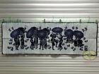 "China Folk Art Wall Hanging Handmade Batik Tapestry - The Love In Spring 17x50"""