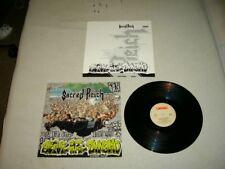 SACRED REICH --- rare original 1989 ALIVE AT THE DYNAMO EP!!!