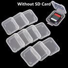 5x SD SDHC Memory Card Case Holder Box Storage Hard Plastic Transparent Holder a