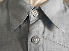 VERSACE JEANS COUTURE LINEN & COTTON BLEND SHIRT XL MADE IN ITALY