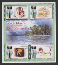 Cook Islands - 2000, Olympic Games, Sydney sheet - MNH - SG 1438/41