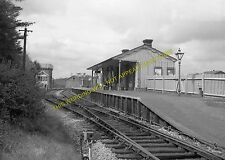 Hawkhurst Railway Station Photo. Cranbrook and Paddock Wood Line. SE&CR. (8)