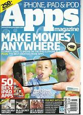iPHONE, iPAD & iPOD APPS MAGAZINE, NO.6 ( MAKE MOVIE ANY WHERE ) 250 APP REVIEWS