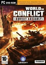 World in Conflict Soviet Assault Expansion PC * new & sealed *