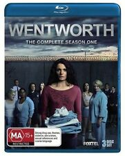 Wentworth : Season 1 (Blu-ray, 2013, 3-Disc Set)