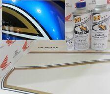 Honda CB 550 Four Lacksatz Lack Candy Saphire Blue + Dekor Tankzierstreifen