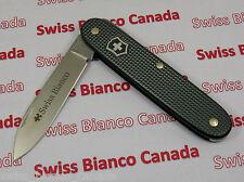 Swiss Bianco Exclusive Victorinox Pioneer Solo Dark Gray Alox Swiss Army Knife
